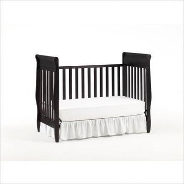 Graco 3001635-043 / 3000835 Sarah Classic 4-in-1 Convertible Crib Nursery Set in Espresso