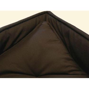 Portable / mini crib set - Solid Brown Portable / Mini Crib Set - Made In USA
