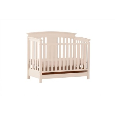 Status Series 800 Stages Convertible Crib, Antique White