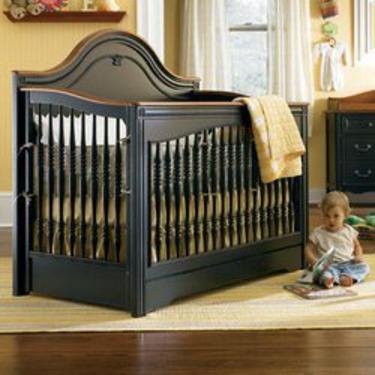 Ma Marie Built to Grow Crib - Antique Black