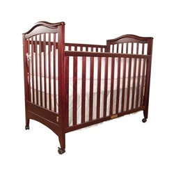 Athena Jeanie Baby Crib Without Drawer (With Drop Side Function) (Cherry)