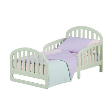 Slumber Time by Simmons Kids Furniture Urban Style 2 in 1 Convertible Crib N More, Green