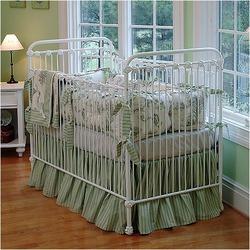 Shabby Chic Crib in White