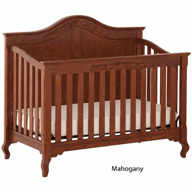 Status Series 200 Stages Convertible Crib, Mahogany