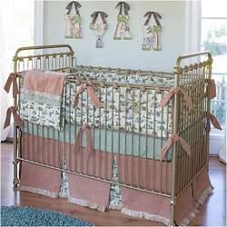 Shabby Chic Crib in Gold
