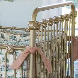 Shabby Chic Crib in Gold