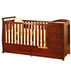Athena Daphne 2-in-1 Crib (Cherry)