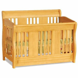 Convertible Crib - Versailles Collection Natural Maple Finish