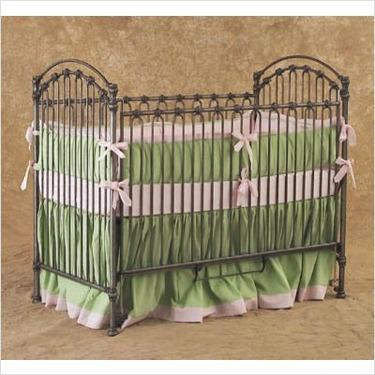 Bratt Decor CV01 - PEW Venetian Crib in Pewter Silver