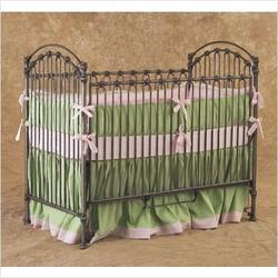 Bratt Decor CV01 - PEW Venetian Crib in Pewter Silver