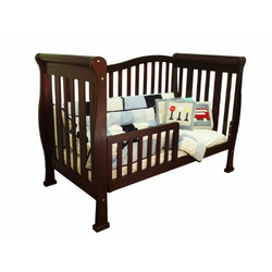 Athena Nadia 3-in-1 Convertible Wood Crib (Cherry)