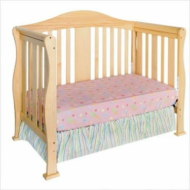 Parker 4-in-1 Convertible Crib - Natural