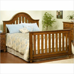 Child Craft 32630.54 Freeport Convertible Crib Set in Rootbeer