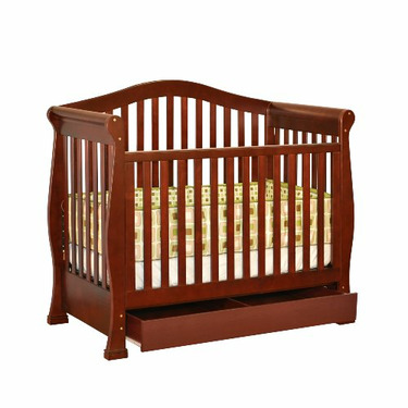 Athena Venetia 3-in-1 Convertible Crib (Cherry)