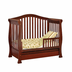 Athena Venetia 3-in-1 Convertible Crib (Cherry)