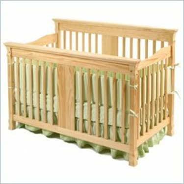 Ariel Stages 3-in-1 Crib - Natural