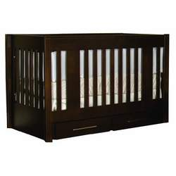 Offspring York Convertible Crib, Linen