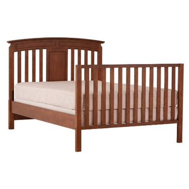 Status Series 800 Stages Convertible Crib, Walnut