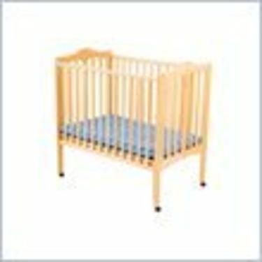 Delta Children's Products Portable Wood Mini Crib in Natural