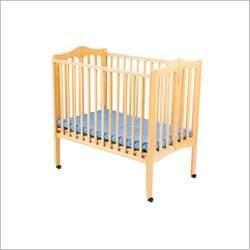 Delta Children's Products Portable Wood Mini Crib in Natural