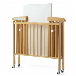 Foundations 70-SS-N2 HideAway Compact Folding Portable Crib with Mattress