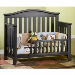 Child Craft F31251.70 Hawthorne Lifetime Convertible Crib in Espresso Pine