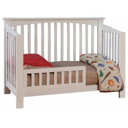 Atlantic Furniture Eco-Friendly Columbia Convertible Crib, White