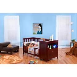 BSF Baby Cherry Austin Crib 'n Changer Combo