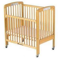 Foundations HideAway Folding Drop Side Crib Full Size