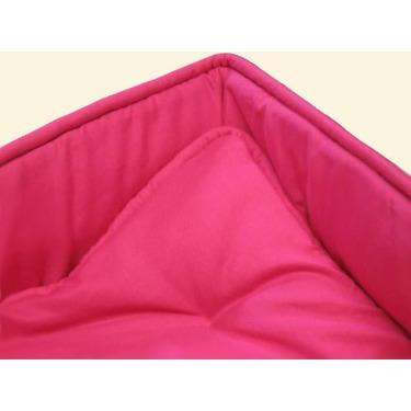 Portable / mini crib set - Solid Hot Pink Portable / Mini Crib Set - Made In USA