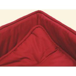 Portable / mini crib set - Solid Red Portable / Mini Crib Set - Made In USA