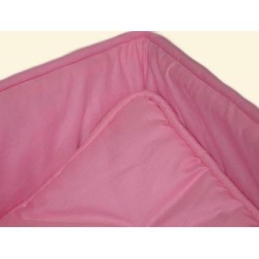 Portable / mini crib set - Solid Bubble Gum Pink Portable / Mini Crib Set - Made In USA
