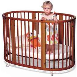 Stokke 10390X Sleepi System I: Bassinet and Crib Set with Mattress