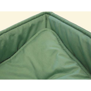 Portable / mini crib set - Solid Sage Portable / Mini Crib Set - Made In USA