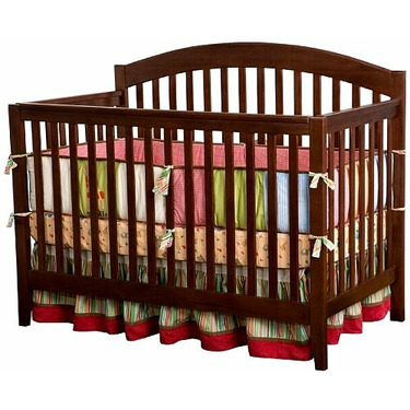 Wellington 3-in-1 Convertible Crib by Delta - Chocolate