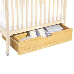 Angeles Corporation Crib Accessory - Natural Crib Drawer