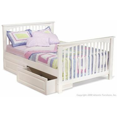 Atlantic Furniture Columbia Bedroom Series Columbia Convertible Crib