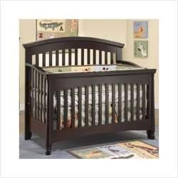 Sorelle 3300 Set Isabella 4-in-1 Convertible Crib Nursery Set