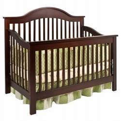 JCPenney Jay 4-in-1 Crib - Antique White, Ebony, Espresso