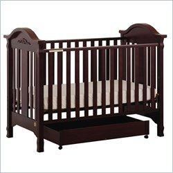 Stork Craft Angelina 3-in-1 Convertible Wood Crib in Cherry