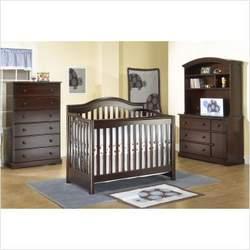 Sorelle 320 / 1320 Sophia 4 in 1 Convertible Crib Nursery Set