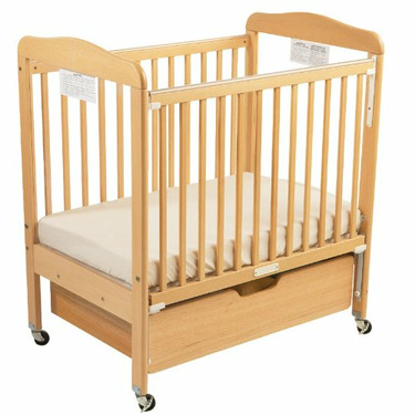 Foundations Serenity Compact Size Drop Side Crib