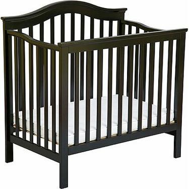 Liberty Mini Crib by Delta - Black