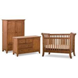 Status Furniture 100 Series Stages 3-in-1 Convertible Baby Crib Collection - SCM005