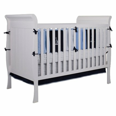 Bassettbaby First Choice Hampton Heights 3-1 Crib - White
