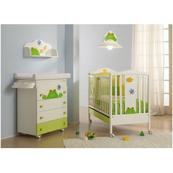 Azur Savana Line Frog Crib