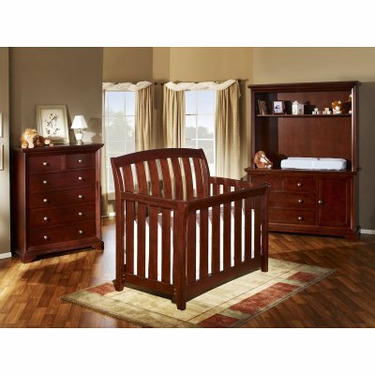 Westwood Brookline 4-in-1 Convertible Baby Crib Collection - WWD057