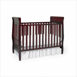 Graco 3001654-043 / 3000854 Sarah Classic 4-in-1 Convertible Crib Nursery Set in Cherry