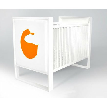 ducduc PARK-DDCC Parker ducduc Fabric Panel Convertible Crib