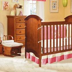 Bassettbaby Sugar Plum 3-in-1 Convertible Crib Collection - BST064